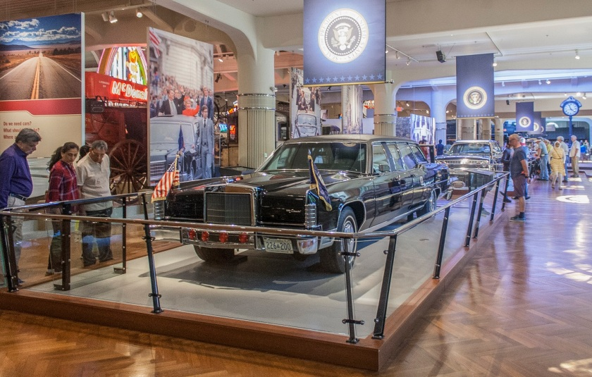 Ronald Reagan, Presidential Limousine, Henry Ford Museum