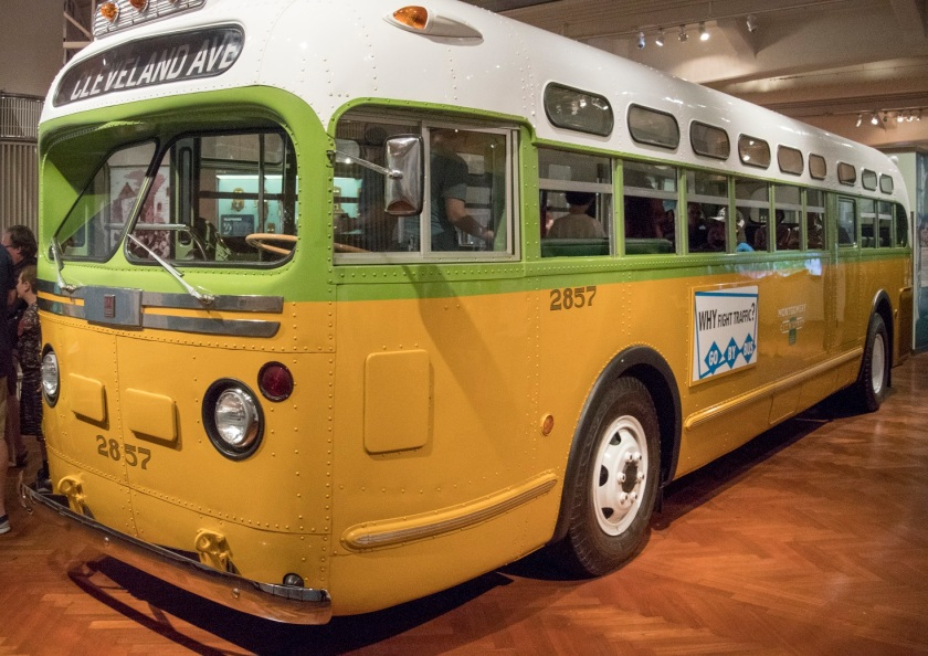 Rosa Parks, Bus, Segregation, Henry Ford Museum