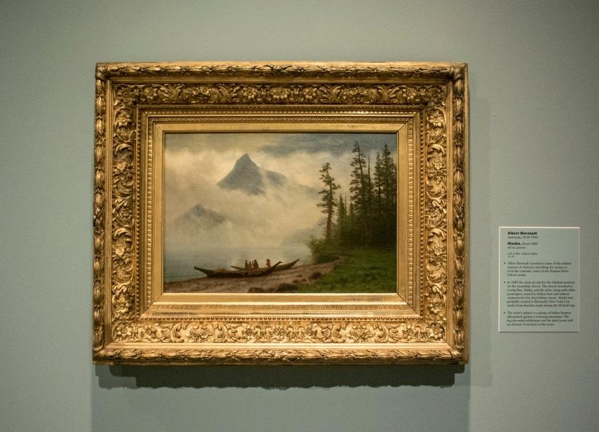 Albert Bierstadt, Alaska, Indianapolis Museum of Art