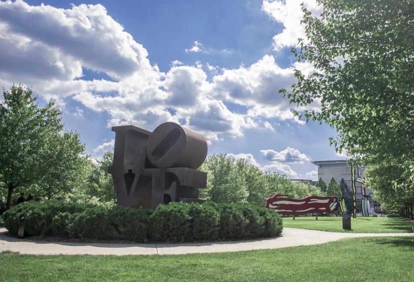 Roy Lichtenstein, Robert Indiana, Indianapolis Museum of Art