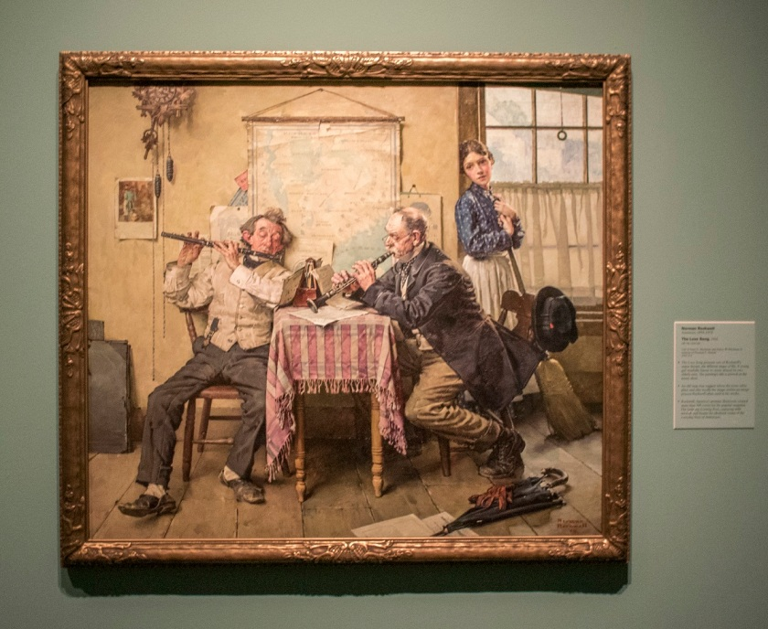 Norman Rockwell, Love Song, Indianapolis Museum of Art