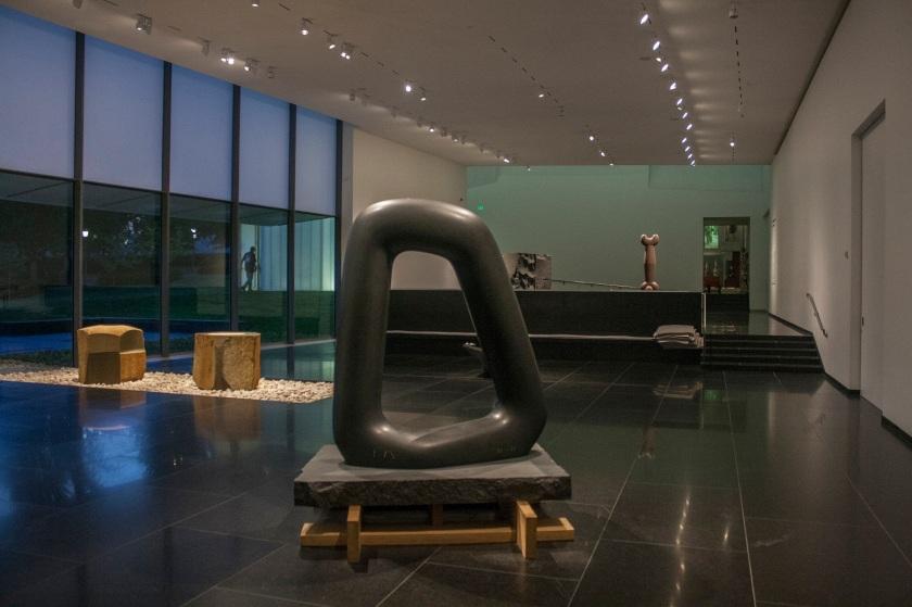 Isamu Naguchi, Nelson-Atkins Museum of Art, Kansas City, Naguchi Court