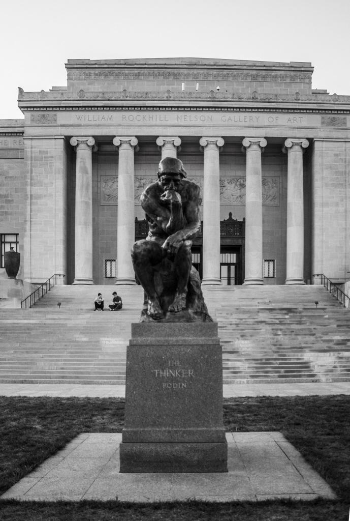 Nelson-Atkins Museum of Art, Rodin, Thinker