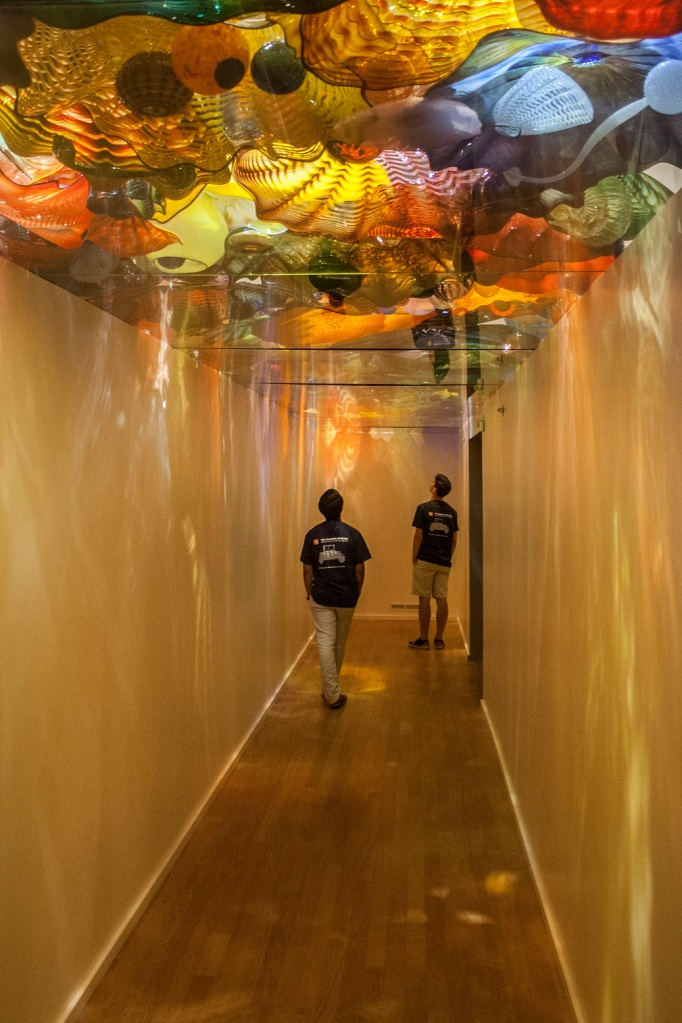 Oklahoma City Museum of Art, Dale Chihuly, Persian Ceiling