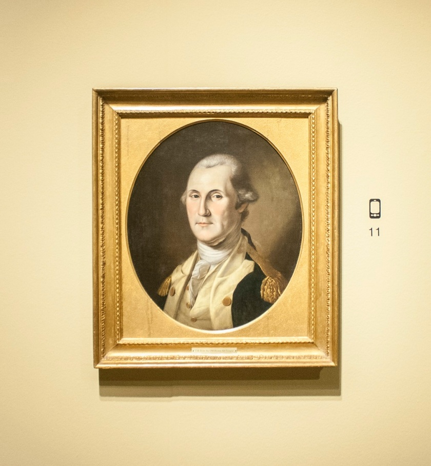 Oklahoma City Museum of Art, Charles Willson Peale, George Washington