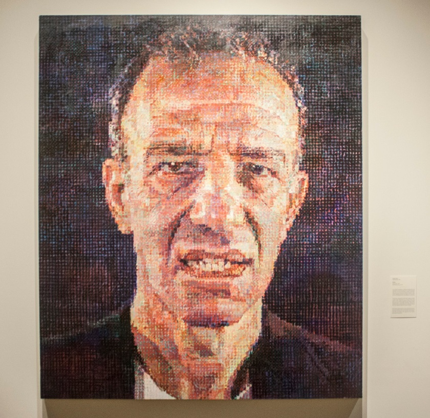 Chuck Close, Toledo Museum of Art