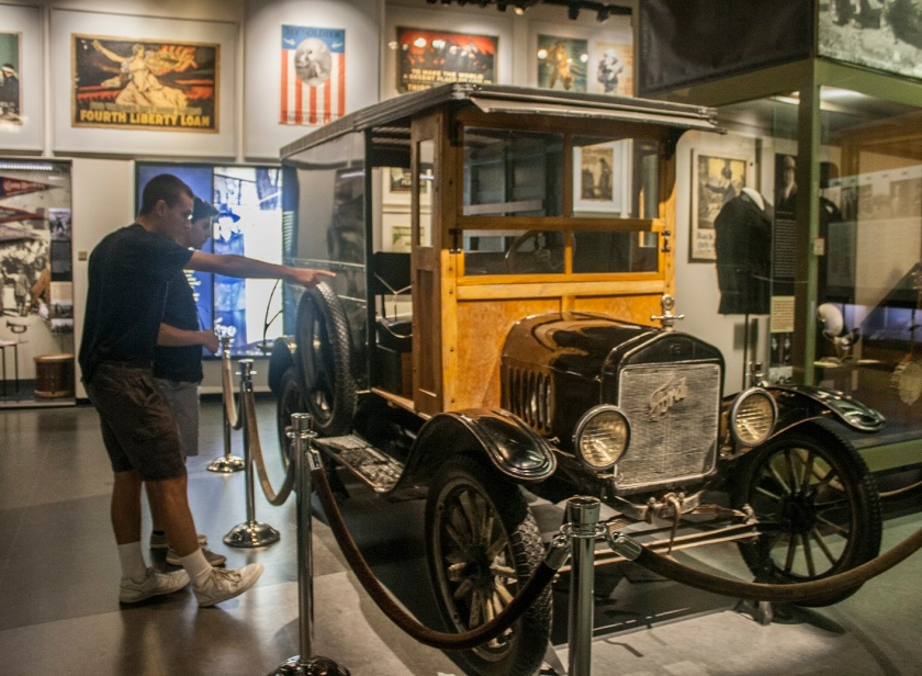 Model T, Henry Ford, World War I, WWI Museum, Kansas City