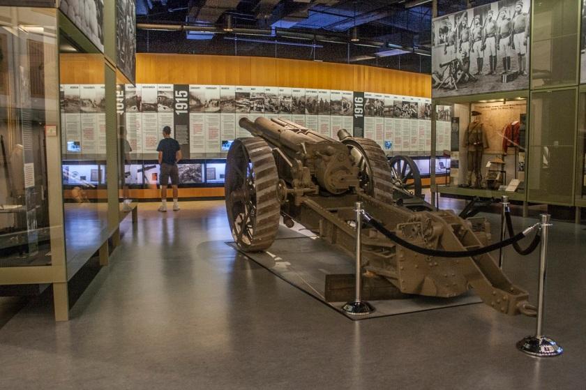 World War I Museum, Timeline, Kansas City