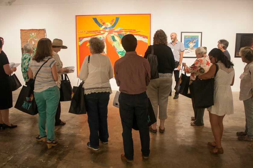Stanley Lea, SHSU, Gaddis-Geeslin Gallery, LEAP Ambassadors, heART of Huntsville