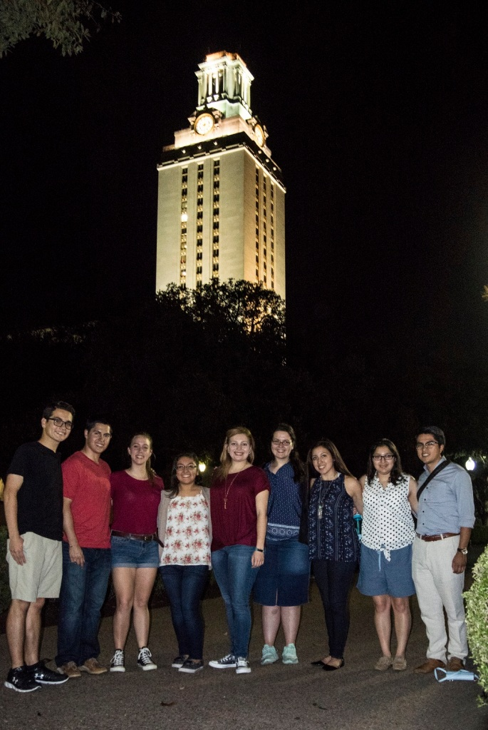UT Tower, LEAP Students