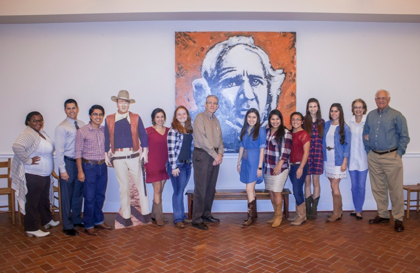 Rio Bravo, John Wayne, Sam Houston, Dr. Carl Rollyson, LEAP Ambassadors, LEAP Center, SHSU, Mac Woodward