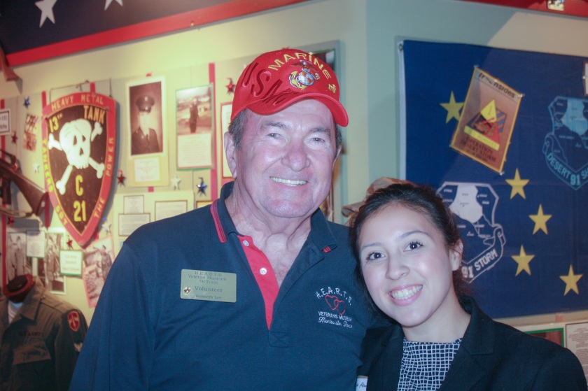 LEAP Ambassadors, HEARTS Veterans Museum