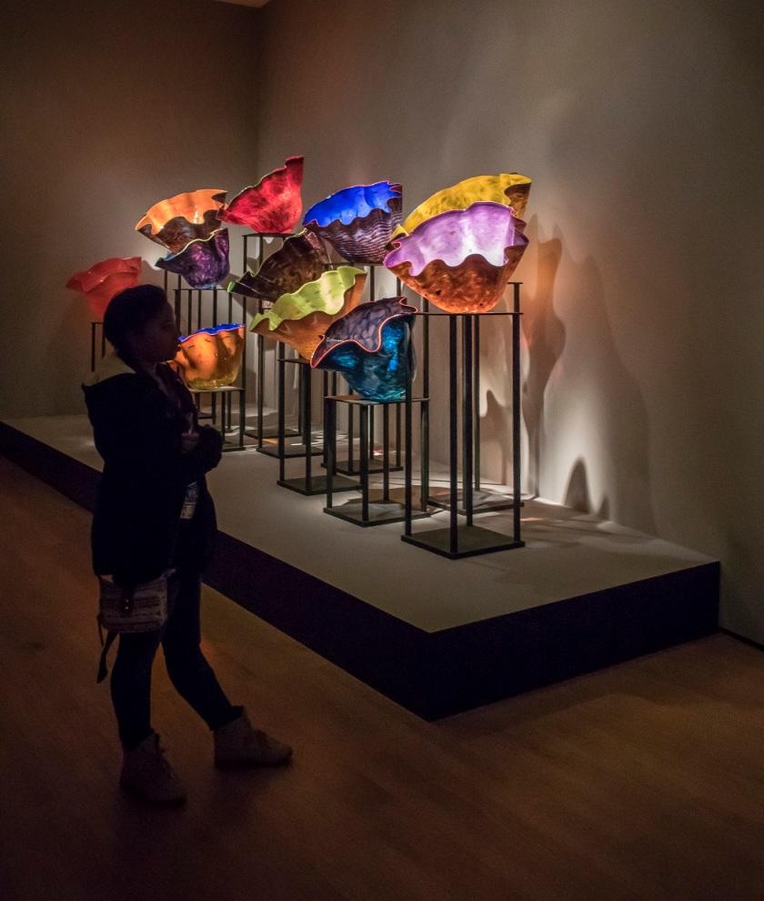 Dale Chihuly, LEAP Center, SHSU, OK Museum of Art