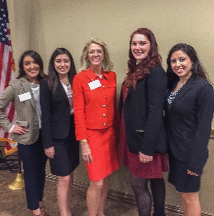 President Dana Hoyt, SHSU, Alumni Relations, LEAP Ambassadors