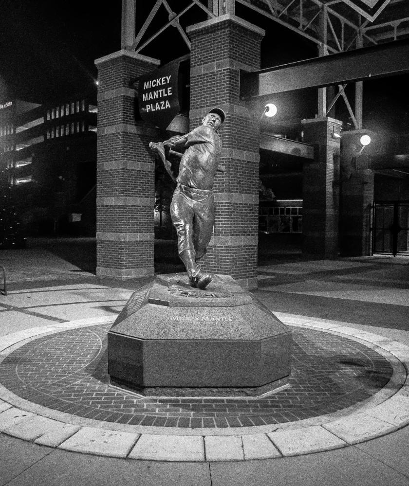 Mickey Mantle, Bricktown, OK City, SHSU, LEAP Center