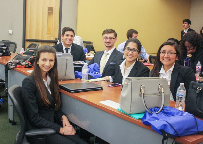 Moot Court, UNT Invitational, LEAP Center, SHSU