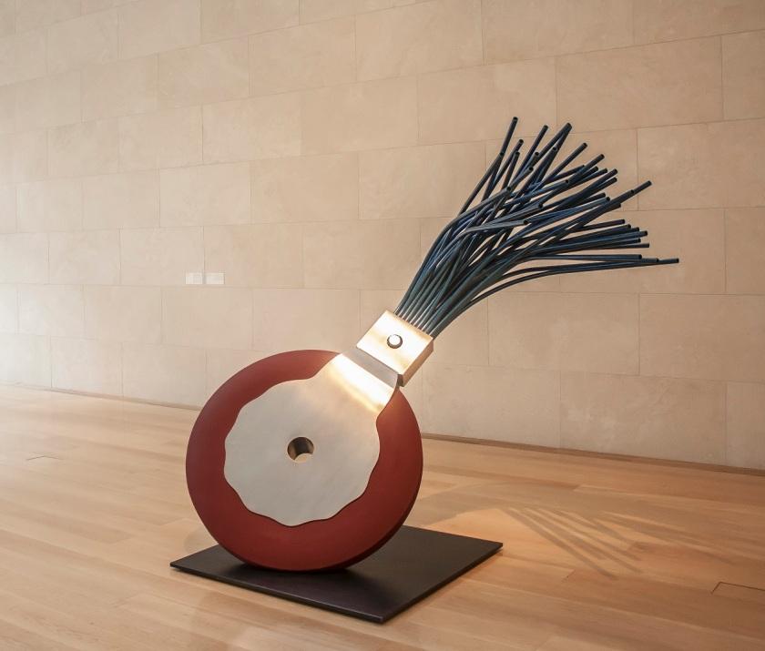 Nasher Sculpture Garden, Claes Oldenburg, LEAP Center, SHSU