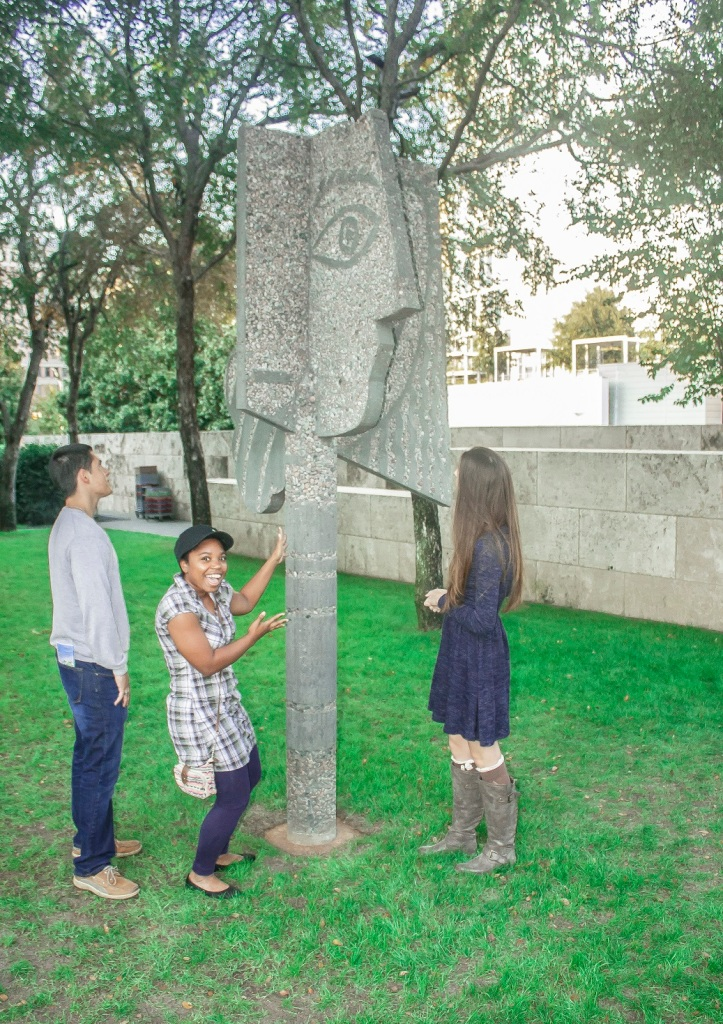 Nasher Sculpture Garden, Picasso, LEAP Center, SHSU