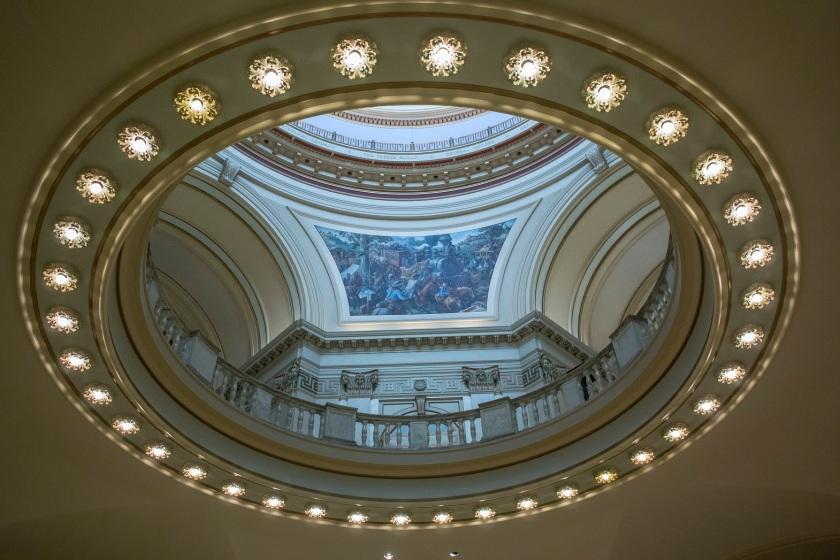OK Capitol, Murals, SHSU, LEAP Center