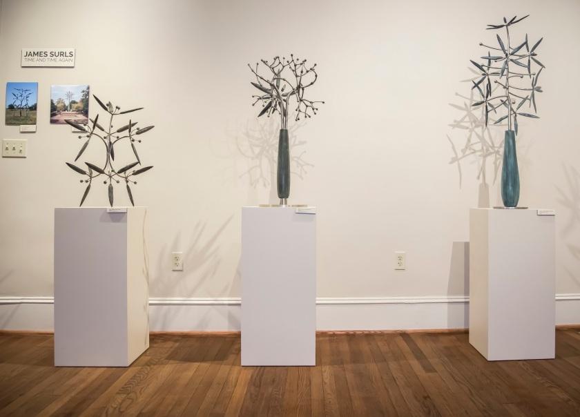 James Surls, Wynne Home Arts Center, LEAP Center, SHSU