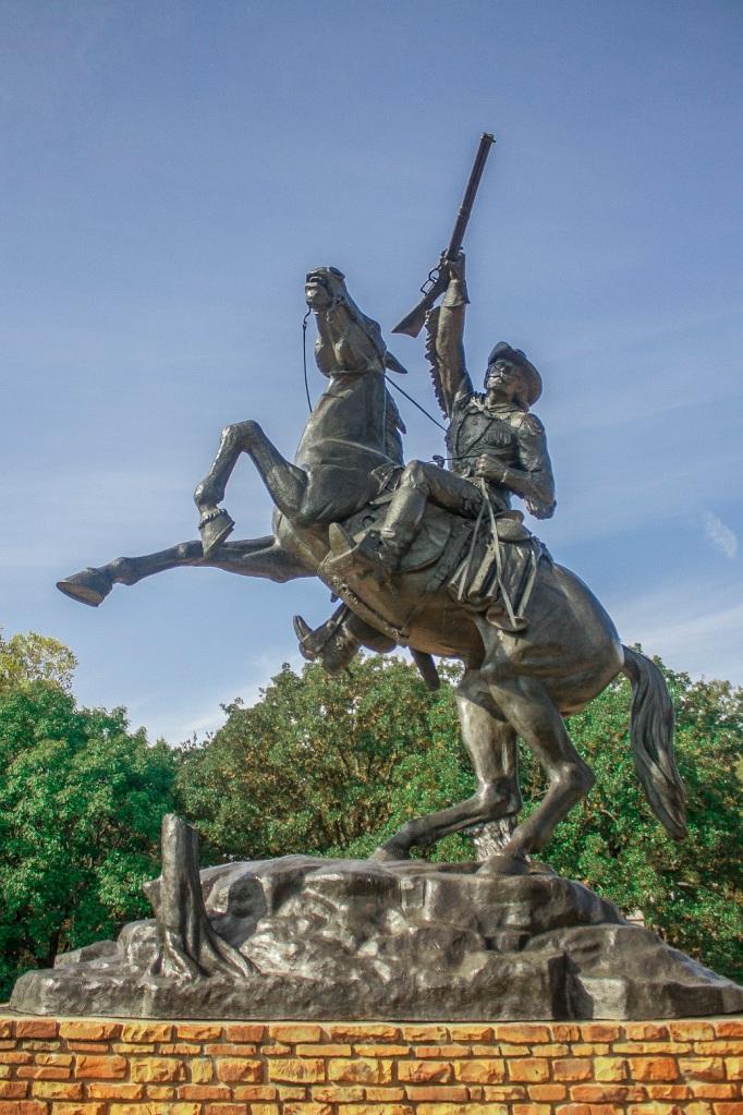Buffalo Bill, OK City, Western Heritage Museum, LEAP Center, SHSU