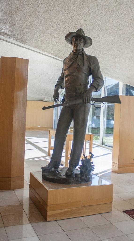 John Wayne, OK City, Western Heritage Museum, LEAP Center, SHSU
