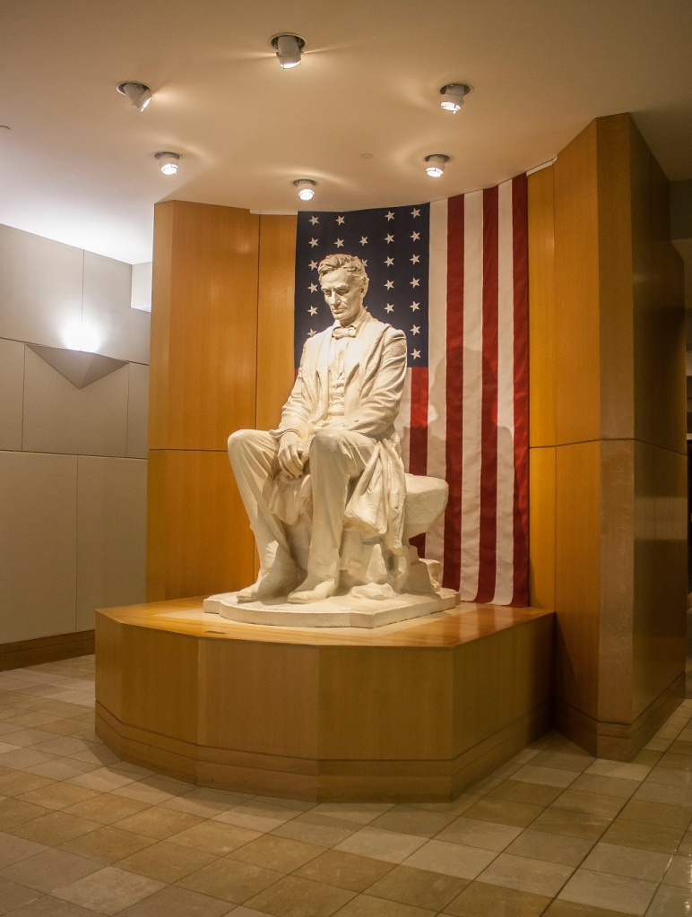 James Earle Fraser, Abraham Lincoln, OK City, Western Heritage Museum, LEAP Center, SHSU