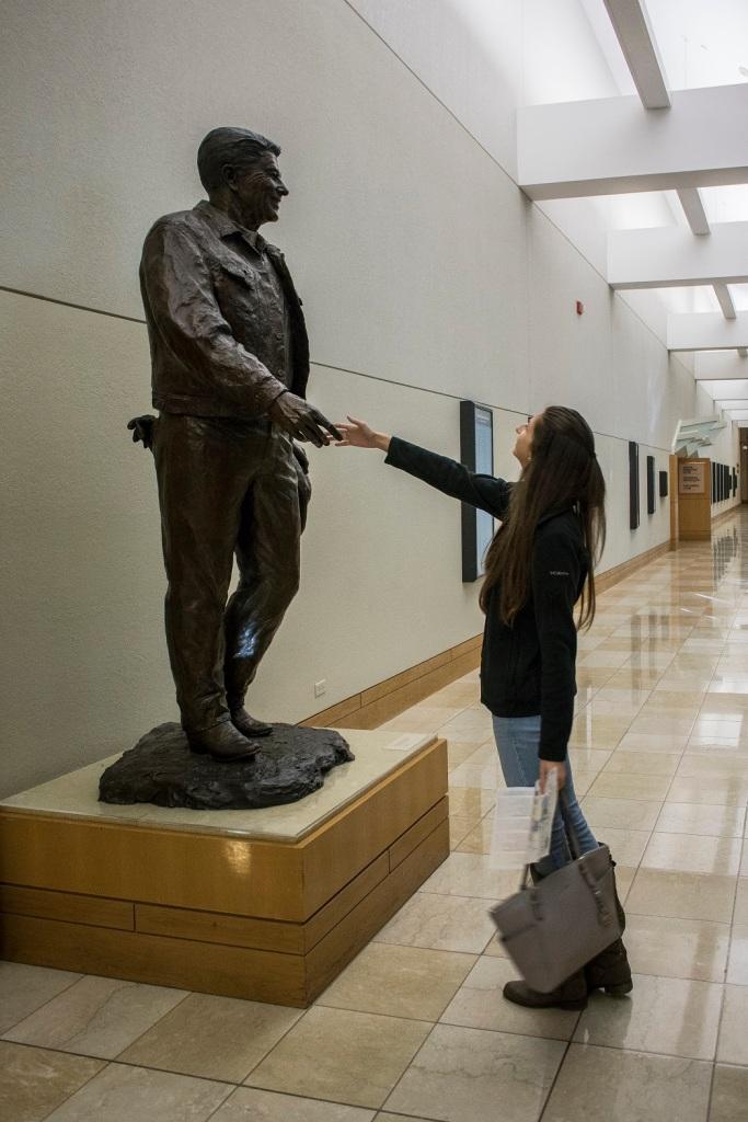 Ronald Reagan, OK City, Western Heritage Museum, LEAP Center, SHSU