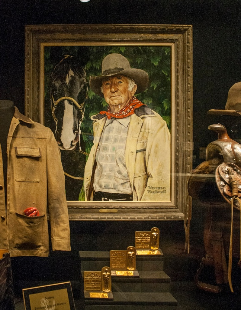 Norman Rockwell, Walter Brennan,, OK City, Western Heritage Museum, LEAP Center, SHSU