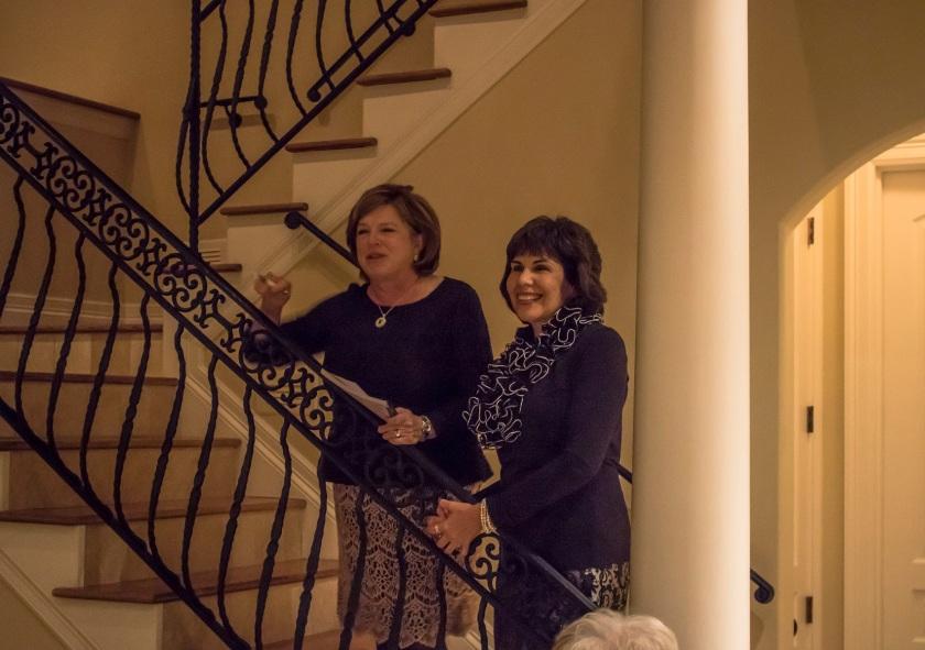 Walker County Republican Women, LEAP Ambassadors, SHSU, Christmas, Kay Deahl, Terry Stivers