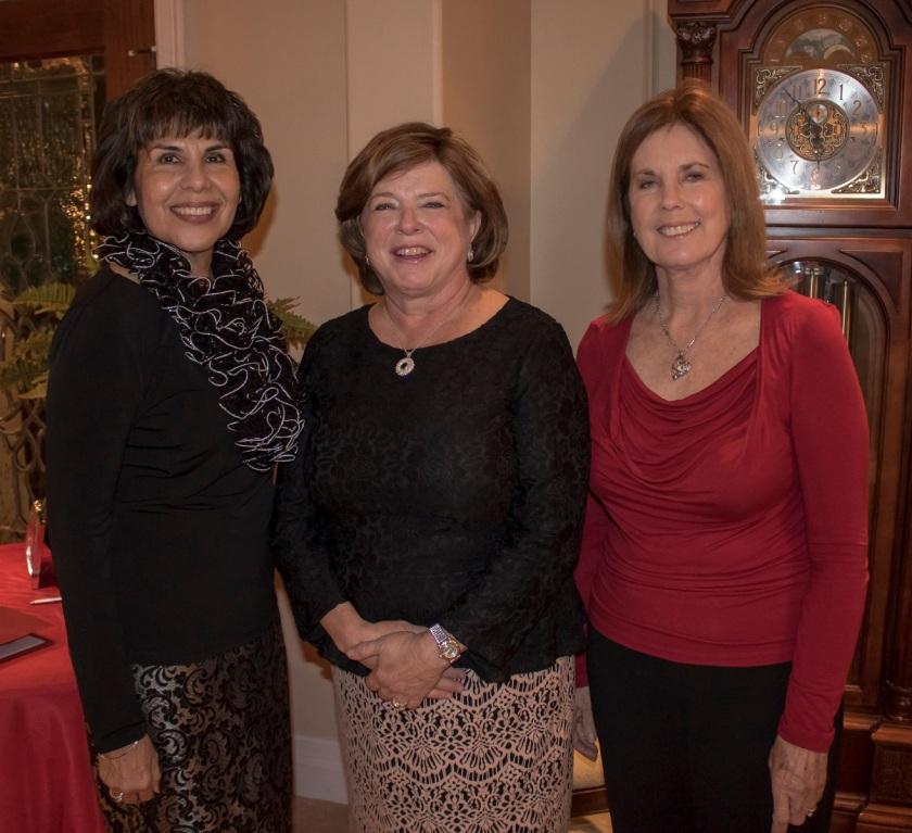 Walker County Republican Women, LEAP Ambassadors, SHSU, Christmas, Terry Stivers, Kay Deahl, Dorothy Yawn