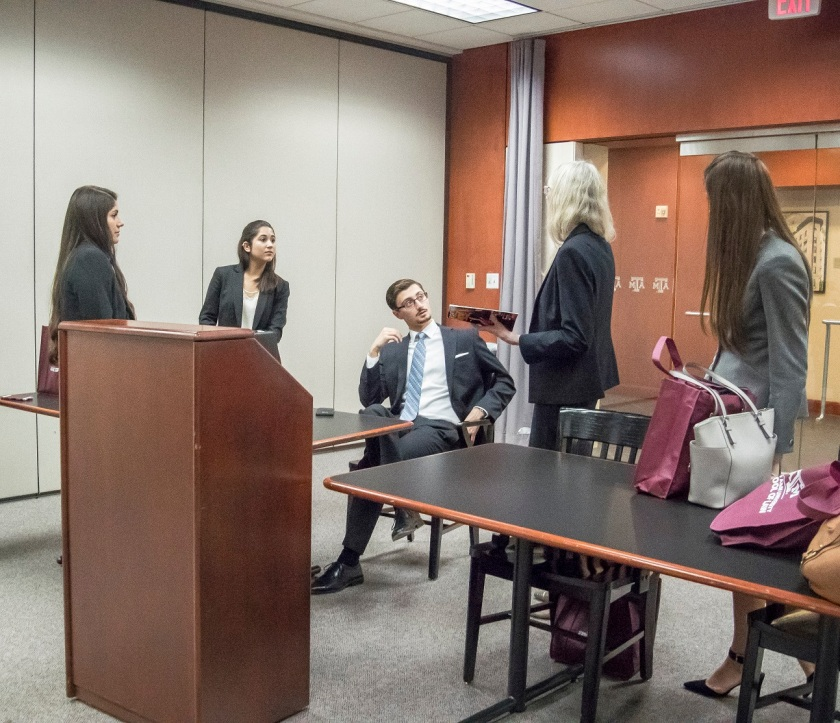 Moot Court, SHSU, LEAP Center, TAMU Moot Court Regional