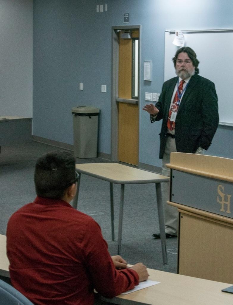 David Weeks, Pre-Law Society, SHSU, LEAP Center