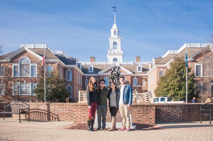 LEAP Ambassadors, SHSU, Dover, Delaware, State Legislature