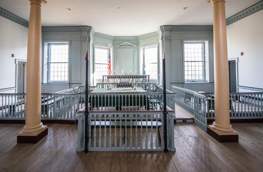 LEAP Ambassadors, SHSU, Dover, Delaware, Old Statehouse, Courtroom
