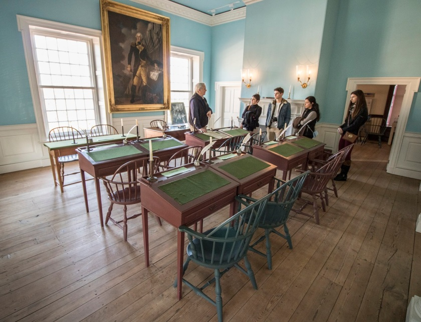 LEAP Ambassadors, SHSU, Dover, Delaware, State Senate