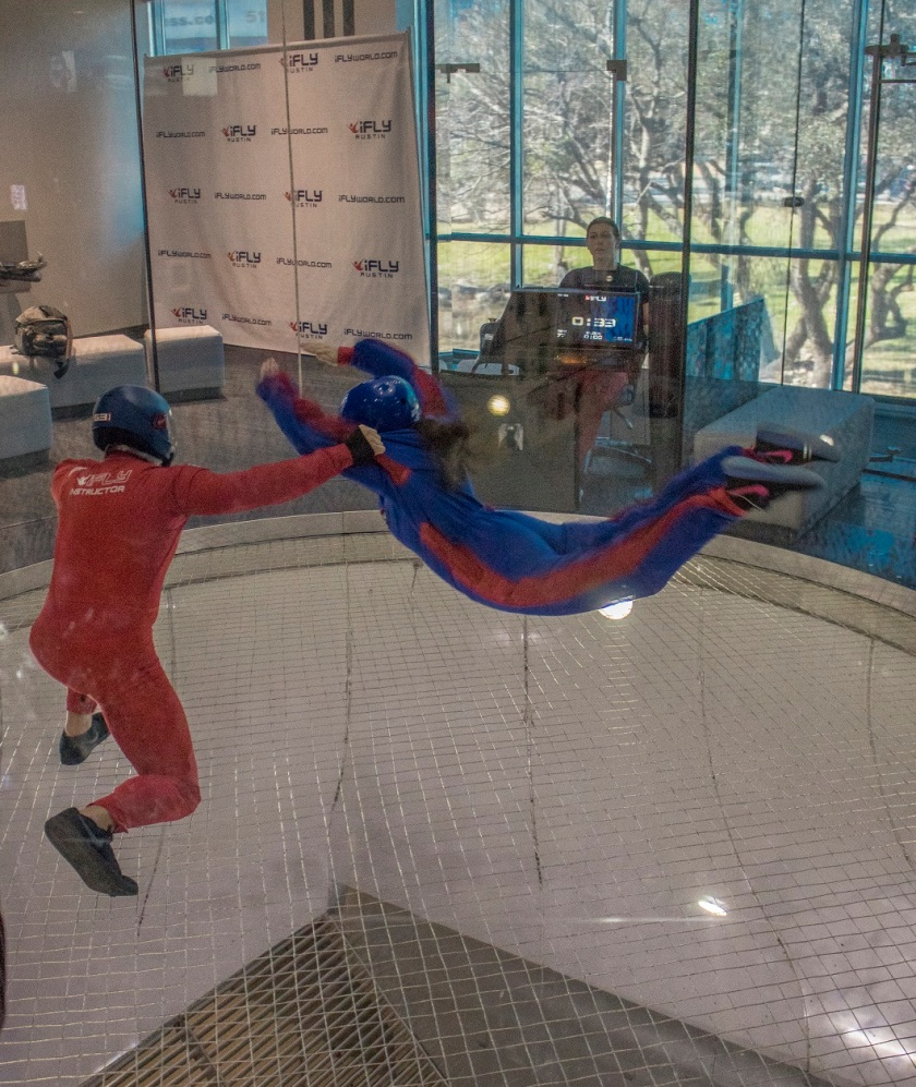 Karla Rosales Enjoying iFLY