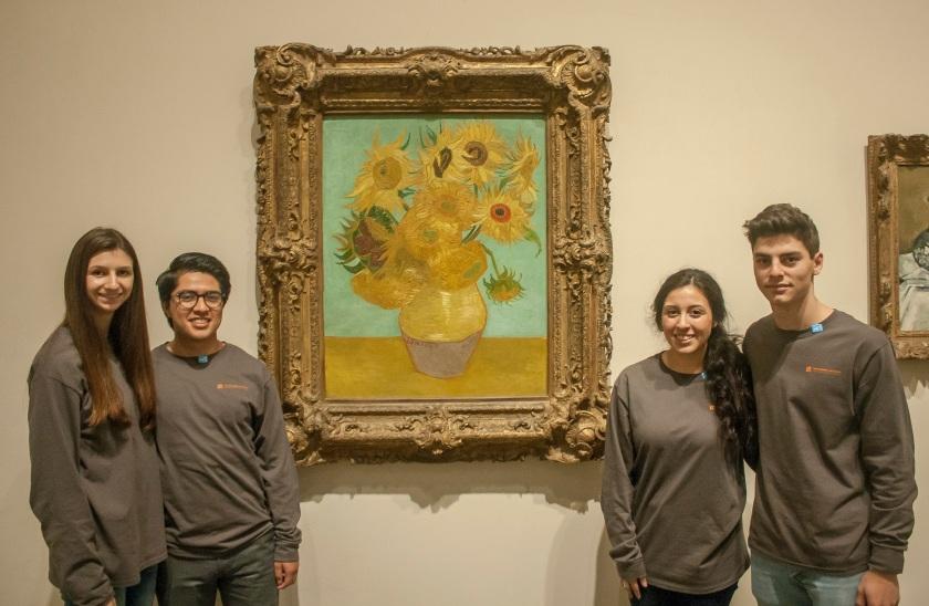 Philadelphia, LEAP Ambassadors, SHSU, LEAP Center, Philadelphia Museum of Art, Vincent Van Gogh