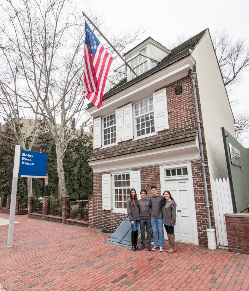 Philadelphia, LEAP Ambassadors, SHSU, LEAP Center, Betsy Ross House