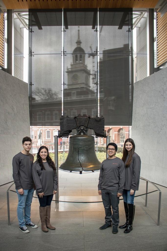 Philadelphia, LEAP Ambassadors, SHSU, LEAP Center, Liberty Bell