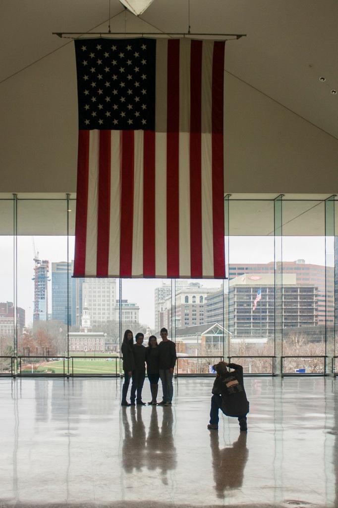 Philadelphia, LEAP Ambassadors, SHSU, LEAP Center, National Constitution Center