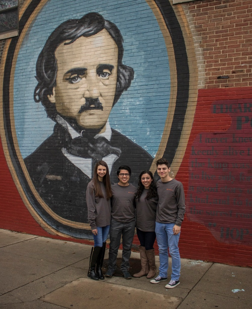 Edgar Allan Poe, Philadelphia, LEAP Ambassadors, SHSU, LEAP Center
