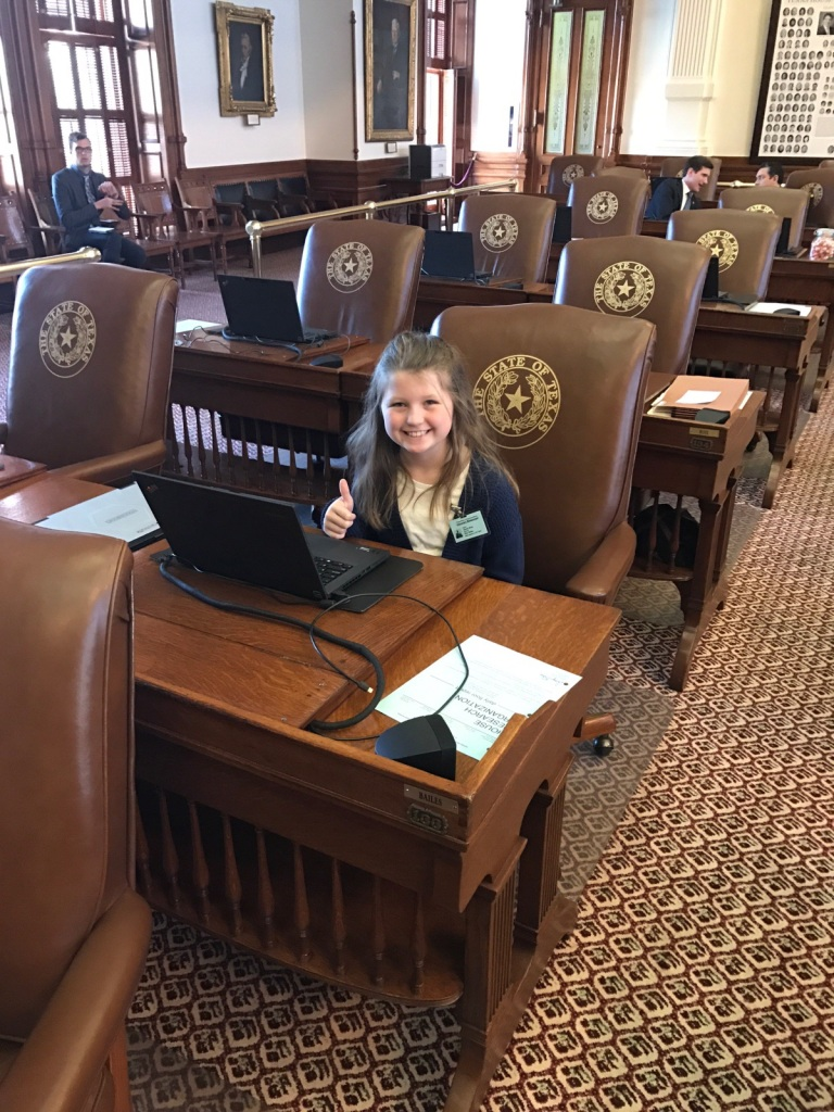 LEAP Center, Texas State Capitol, SHSU, Page, Alissa Wion, Ernest Bailes