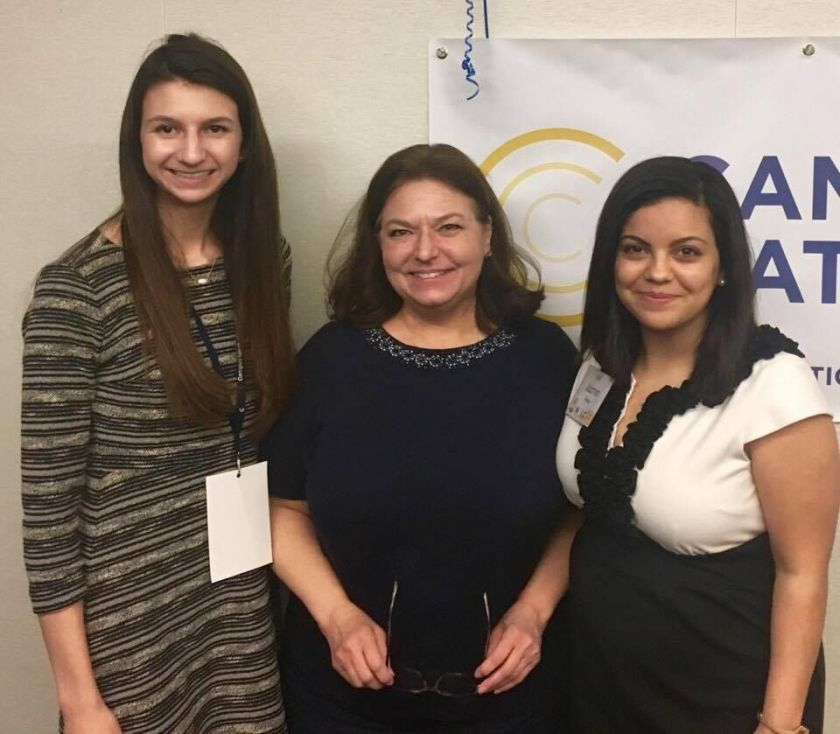 Campus Women Lead, LEAP, SHSU, Nancy Bocskor, Kaitlyn Tyra