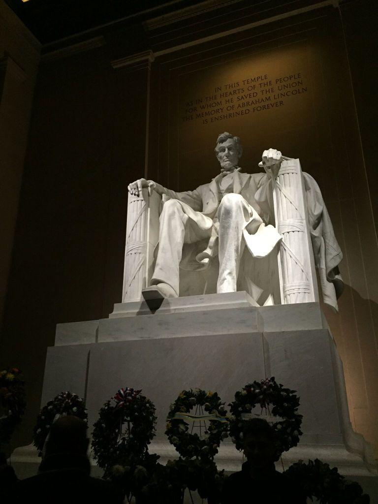 Washington DC, Lincoln Memorial, LEAP Center, SHSU