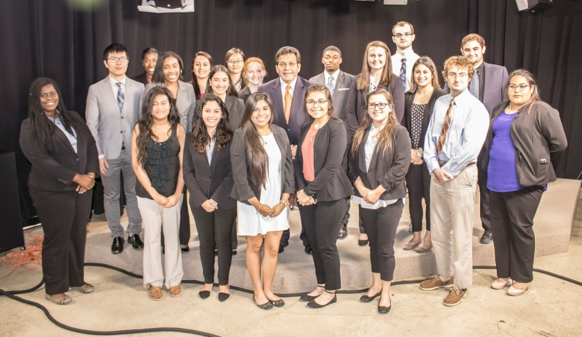 LEAP Center, Center for Law Engagement And Politics, SHSU, Alberto Gonzales