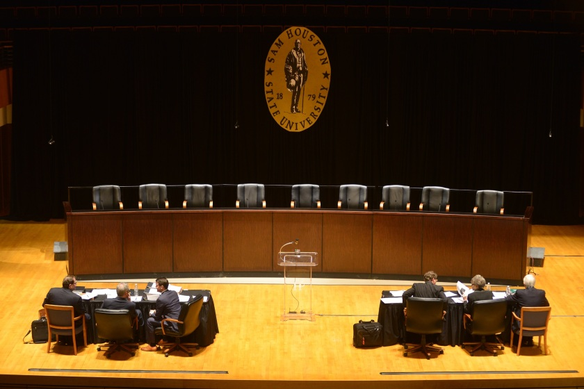 Texas Supreme Court, LEAP Ambassadors, SHSU, LEAP Center, Center for Law Engagement And Politics, Keith Coogler