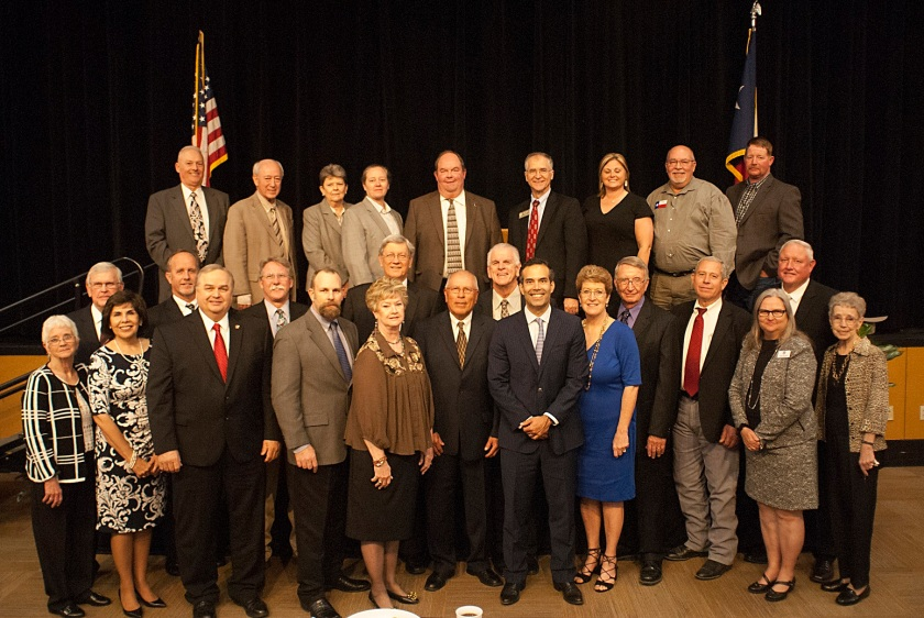 Walker County Elected Officials, Walker County Republican Party, Reagan Dinner, LEAP Center, SHSU, LSC, George P. Bush