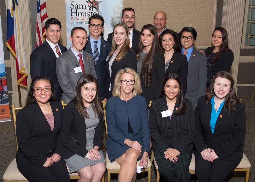 SHAIP, Sam Houston Austin Internship Program, SH Alumni Association, Dana Hoyt, LEAP Center