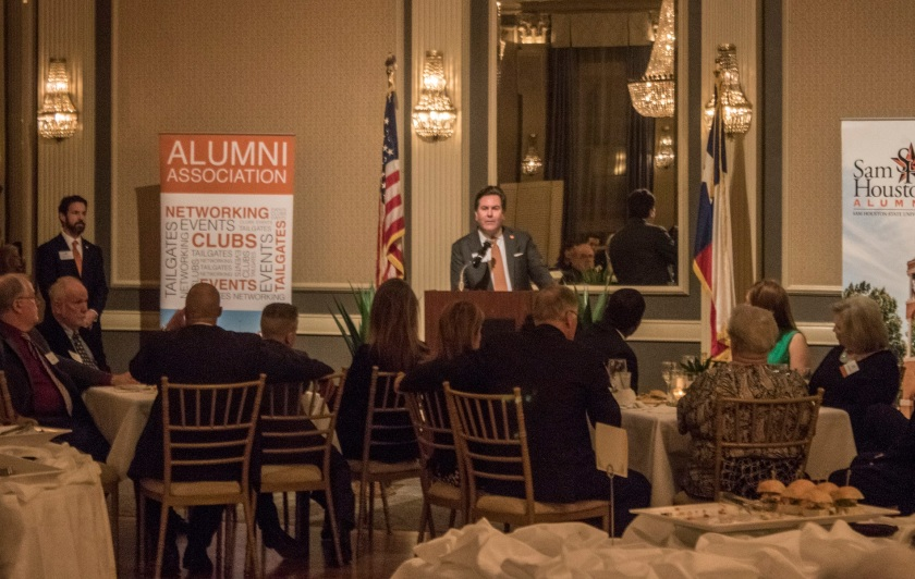 Chancellor Brian McCall, Sam Houston Austin Internship Program, SHAIP, LEAP, SHSU